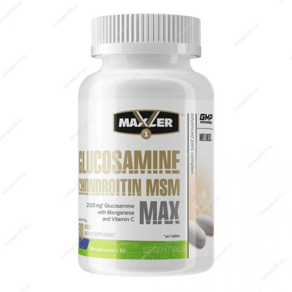 Maxler Glucosamine Chondroitin MSM MAX